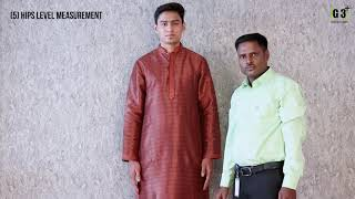 How to Take Measurements for Mens Kurta Suit - G3fashion