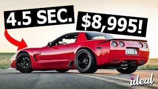 CHEAP Cars That Go 0-60 UNDER 5 Seconds