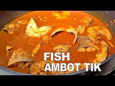 Ambot Tik | Goan Fish Ambot Tik Recipe | Goan Sour & Spicy Fish Curry Recipe | Goan Food Recipes