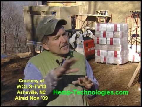 Hemp House on Local abc News WLOS CH 13, Asheville, NC