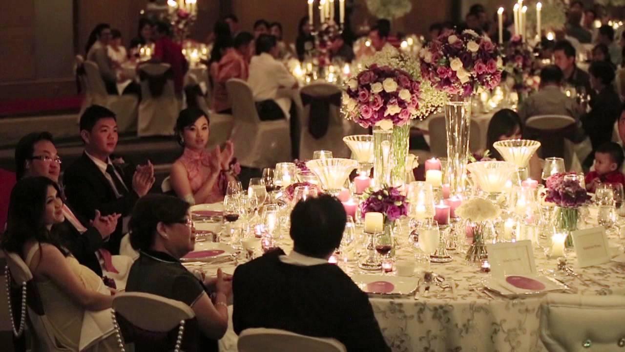 jon chow vanessa pung grand wedding reception hilton