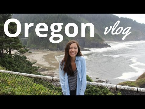 Oregon VLOG | Eugene (University of Oregon) , Portland & Florence (the Coast)