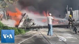 1 Dead in Honduras Fuel Tanker Crash