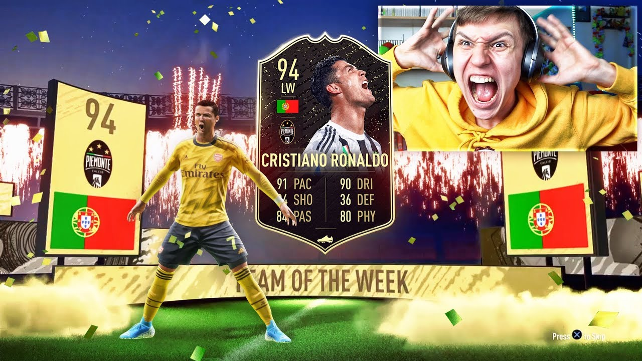 ICON + INFORM RONALDO IN A PACK!! (FIFA 20 Pack Opening) thumbnail