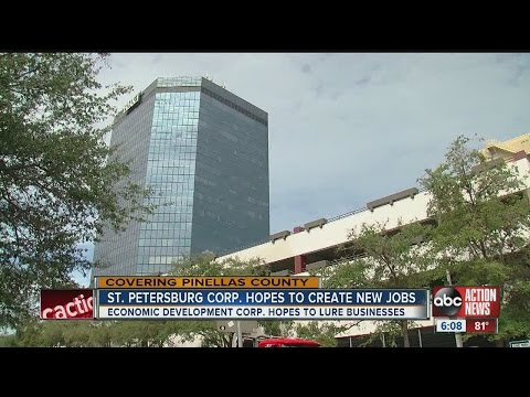 St. Petersburg Reaches Milestone, Creating First Ever Economic Development Corp.