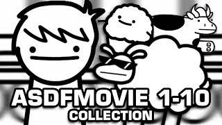 One of DarkSquidge's most viewed videos: asdfmovie 1-10 (Complete Collection)