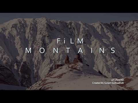 The harsh nature of the Caucasus Mountains-Суровый характер кавказских гор 4k Ultra HD