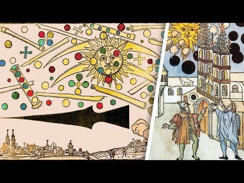 Aliens & UFOs:  1561/1566 celestial phenomenons over Nuremberg/Basel
