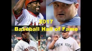 Who Would You Vote into Cooperstown? |2017 Baseball Hall of Fame Results