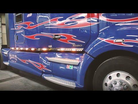 Installing Cab & Sleeper Panels w/Lights on T680