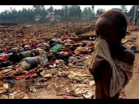 Rwandan Genocide News Clips Montage
