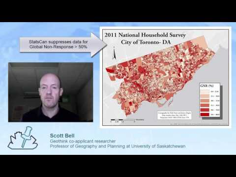 Mapping Data Uncertainty in Canada's National Household Survey