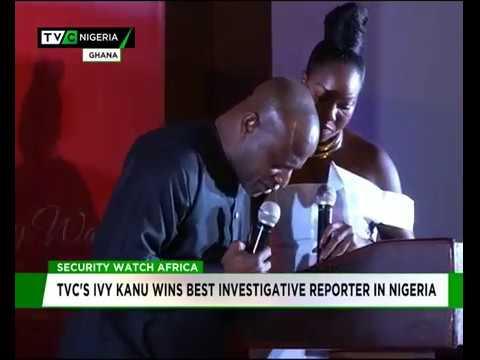 TVC's Ivy Kanu wins Best Investigative Reporter in Nigeria