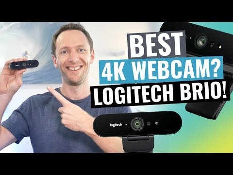 Logitech Brio Review: Best 4K Webcam?