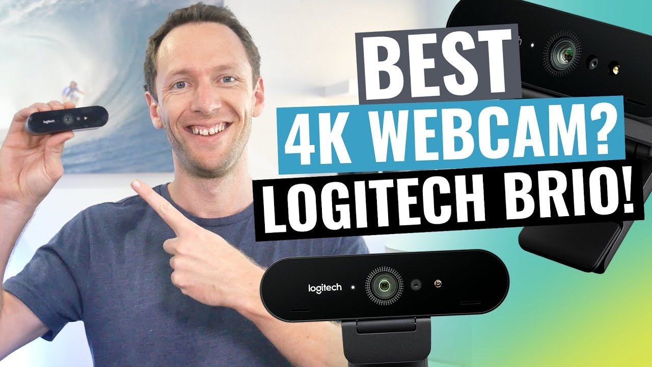 logitech brio review: best 4k webcam? - youtube