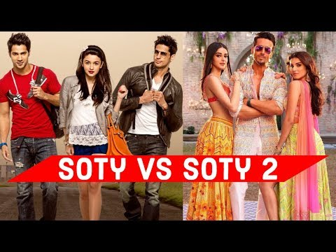 Student Of The Year Vs Student Of The Year 2 - Which Bollywood Song Do You Like ? ( SOTY Vs SOTY 2)