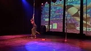 Step Up Pole Dance Competition - Miss Pole Dance Cyprus 2014 Andreana Lemonari