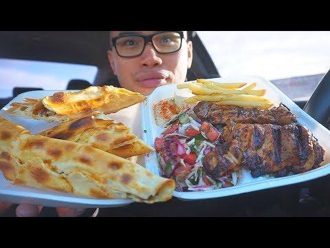 First time eating Authentic TURKISH & LEBANESE FOOD *Mukbang