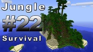 MINECRAFT JUNGLE ISLAND SURVIVAL - PART 22