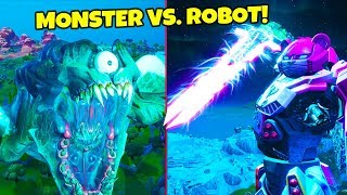 I MISSED THE FORTNITE EVENT?!? Cizzorz Reacts - Monster Vs. Robot Live Event!