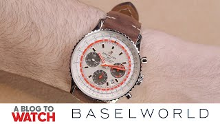 Breitling Navitimer 1 Airline Edition Watch Hands-On | New for Baselworld 2019 | aBlogtoWatch