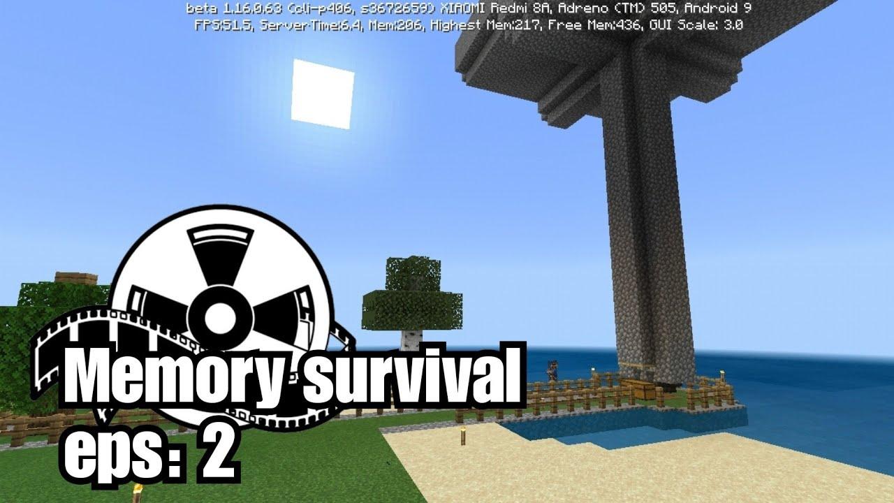 Mob xp farm Bedrock Edition | Memory survival eps 2 - YouTube