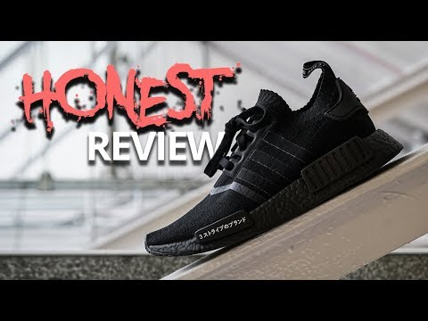 HONEST REVIEW adidas NMD R1 Triple Black Japan - YouTube 406671fd0775