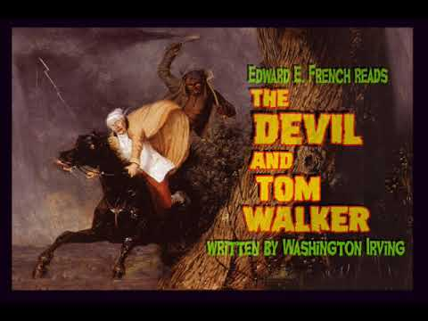 a comparison of washington irvings rip vanwinkle and the devil and tom walker