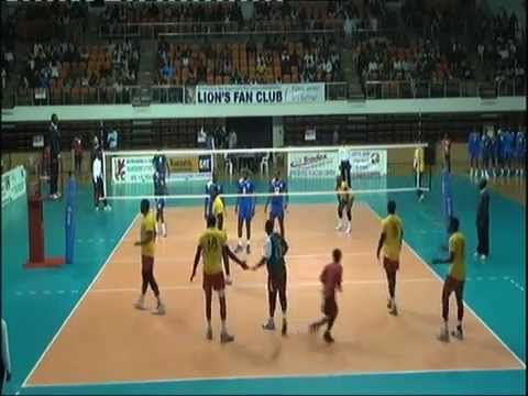 Rwanda volleyball  Team Vs Cameroun in world cup qualification 2014 february