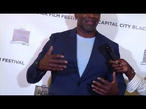 Julius Tennon  With AFTV5  at The Capital City Back Film Festival 2015