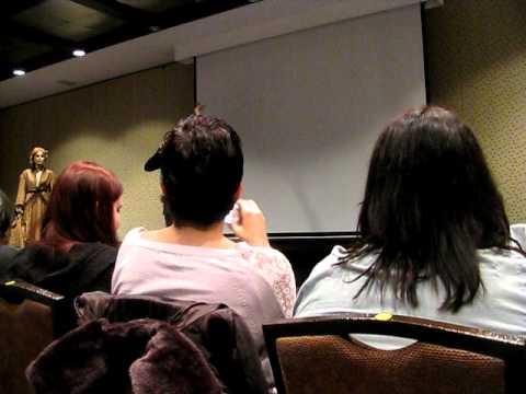 Kate Mulgrew discusses Genvieve Bujold at OzTrek 6 in Sydney  2011.
