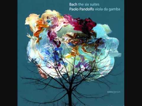 Paolo Pandolfo; Bach Cello Suite 2, Allemande (Viola da Gamba)