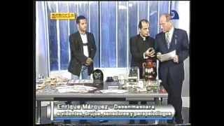 ENRIQUE MARQUEZ - Fraudes paranormales (Sai Baba, Uri Geller y otros) - Memoria (19-04-2000)