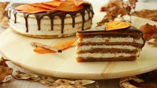 Осенний Тыквенный Торт / Balkabağı Pastası Tarifi / Pumpkin Cake Recipe