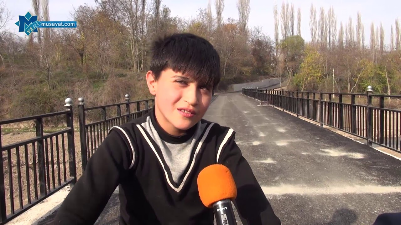 Tovuzun Yuxarı Öysüzlü kəndindən reportaj