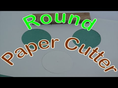 Simple Round Cutter For Paper