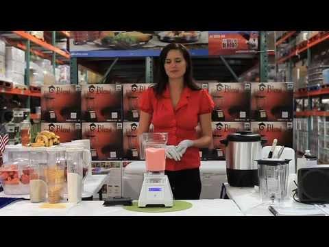 Blending Ice Cream Using A Vitamix Or Blendtec Blender Costco Roadshow You