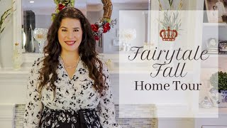 A FAIRYTALE FALL + Giveaway 🍂 2019 Fall Home Tour ♡MissJustinaMarie