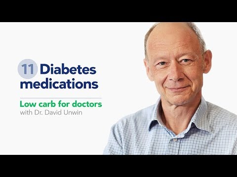 Low carb for doctors: diabetes medications