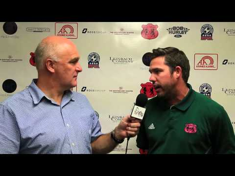CF Monterrey Post Game with Dave Saunders and Assistant Coach Brian McCurdy
