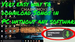 how to download mp3 songs in pc without any software 2019