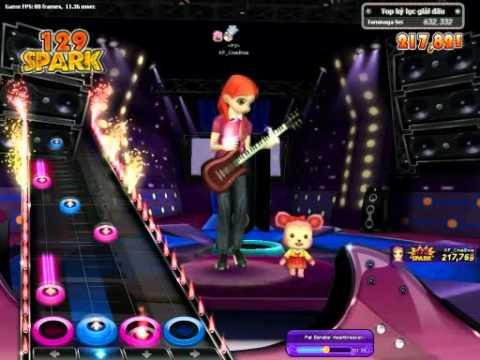 The Fiery Concert - Pat Benatar - Heartbreaker (lvl 3 Hard) - Custom song