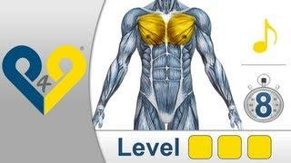 Brustmuskeltraining Niveau 3