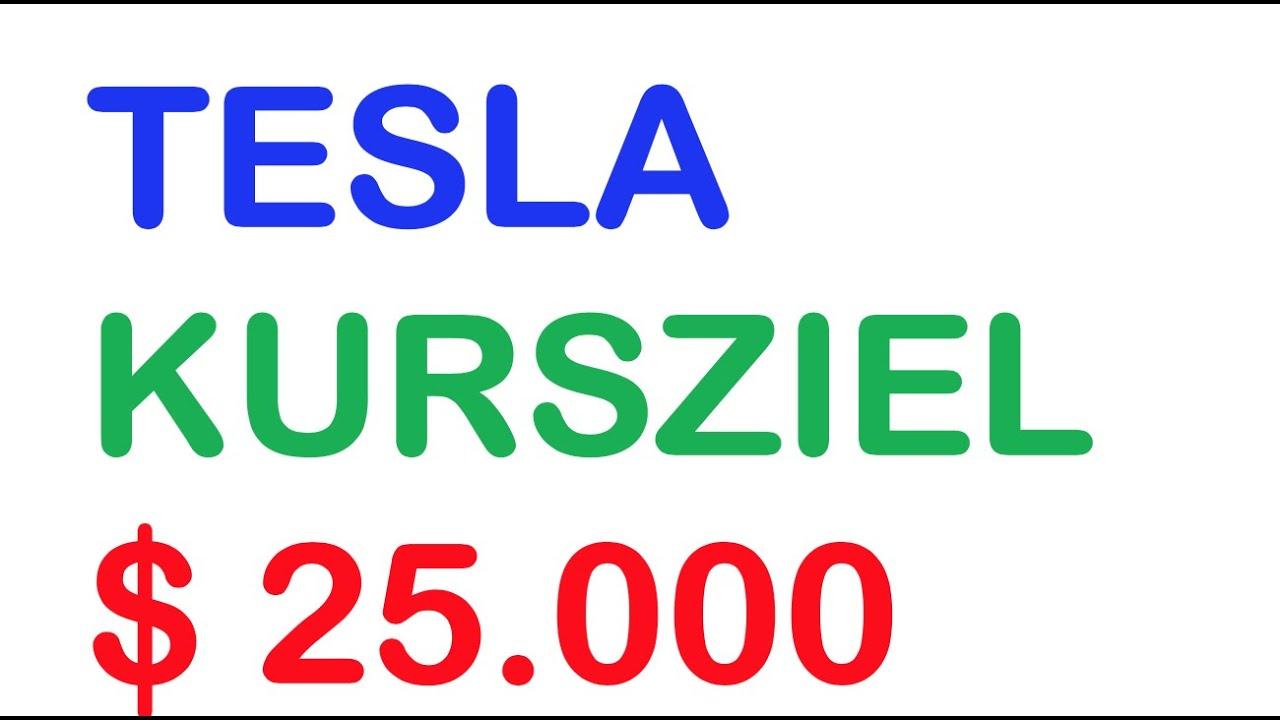 Kursziel Tesla