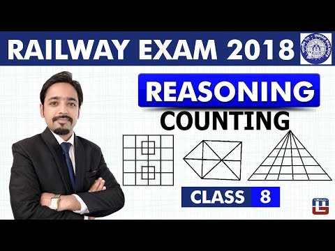 Counting of Figures   Reasoning   Class - 8   RRB   Railway ALP / Group D   Live At 8 PM
