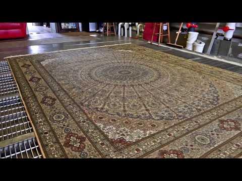 How we clean Persian Rug from Diarrhea-#orientalcarpet