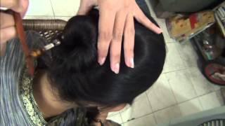 Easy bun hairstyles