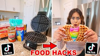 We TASTED Viral TikTok Cooking Life Hacks ... *THEY WORKED!*