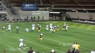 James Brown Menominee Maroons Defensive End 3