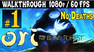 ORI And The Blind Forest Walkthrough - Part 1 Gameplay 1080p 60FPS PC / Xbox One / Xbox 360